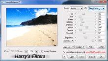 """Eine ganze Wundertüte von Gratis-Effekten für Photoshop & Co. bietet die Freeware """"Harry's Filters""""."""