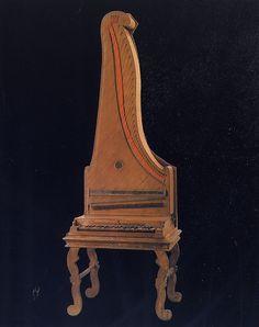 Pianoforteverticale di Del Mela - 1739 (Galleria dell'Accademia, Firenze)    #TuscanyAgriturismoGiratola