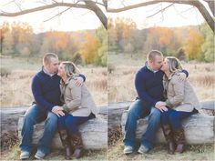 E Schmidt Photography | Metro Detroit Wedding Photographer | Fall Engagement Photography