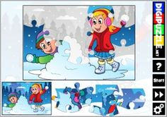 Winter Jigsaw Puzzles Winter Games, Jigsaw Puzzles, Family Guy, Fictional Characters, Puzzle Games, Fantasy Characters, Griffins