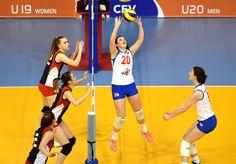 Katarina Lukić in action.