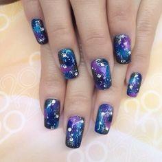 Galaxy with diamonds