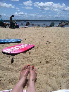 Jamestown Beach in Williamsburg, VA