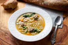 Healthy Comfort Food: Meatball and Barley Soup