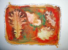 Herbst im Kunstunterricht in der Grundschule - 136s Webseite!