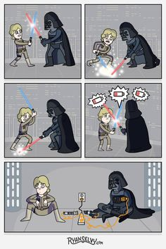 Tagged with star wars, starwars; Shared by My favorite Star Wars posts from the past year Star Wars Meme, Star Wars Witze, Star Wars Rebels, Star War 3, Humor Grafico, Love Stars, Funny Comics, Funny Pictures, Funny Memes