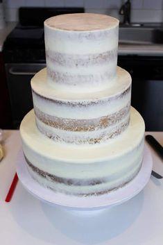 Vanilla Layer Cake Recipe, Layer Cake Recipes, Sponge Cake Recipes, Two Tiered Cake Recipe, Vanilla Buttercream, Buttercream Frosting, Dessert Recipes, Cake Sizes And Servings, Cake Servings