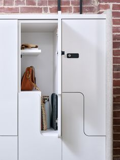 OFS introduces z-lockers and new fabric detailing on Heya storage options. Small Rooms, Small Spaces, Product Portfolio, The Office, Lockers, Storage, Fabric, Home, Design