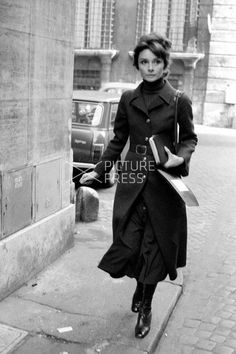 Audrey Hepburn Dotti photographed by Elio Sorci in Rome (Italy), during her…