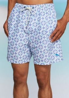 Tommy Bahama Men's Naples Isle Swim Tiles Trunks - Beach Bum - Xl