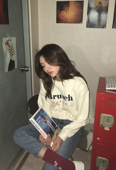 cute girl ulzzang 얼짱 hot fit pretty kawaii adorable beautiful korean japanese asian soft grunge aesthetic 女 女の子 g e o r g i a n a : 人 Model Outfits, Girl Outfits, Cute Outfits, Fashion Outfits, Summer Outfits, Asian Fashion, Trendy Fashion, Fashion Models, Style Fashion