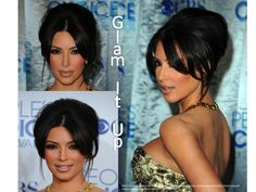Get your hair all glammed up like Kimmie K...here's how!