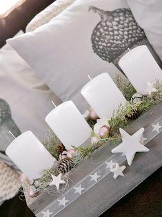 Advent wreath star - New Ideas Advent Wreath, Grapevine Wreath, Christmas Diy, Christmas Decorations, Baby Name Signs, Nursery Room Decor, Natural Home Decor, Knobs And Pulls, Autumn Trees