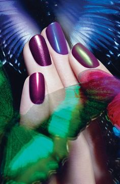 loves these #purple shades of nail polish http://rstyle.me/n/kzkizr9te