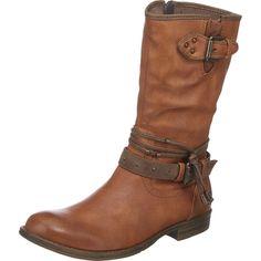 #MUSTANG #Damen #Stiefel #braun - Im lässigen Cowboy Look präsentieren sich…