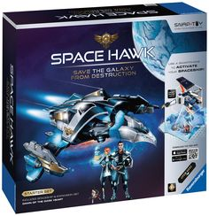 "Amazon.com: Ravensburger Space Hawk Starter Set Includes Spacehip & Expansion ""Dawn of The Dark Heart"": Toys & Games"
