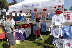 Cape Cod visits The Big E with its Soft as a Grape clothing store. Purchase t-shirts and other goodies to celebrate the Bay State.