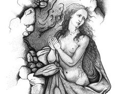 """Check out new work on my @Behance portfolio: """"magdalene"""" http://on.be.net/1HK26Lm"""