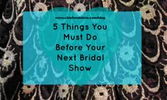 Read blog post if you tips for attending your next bridal show!  Follow @ChiefWedsLolo.com - Nigerian Wedding Planning Blog (Traditional and Church/Mosque) for more Nigerian wedding planning tips! #chiefwedslolo #bellanaijaweddings #nigerianweddings #nigerianbride #weddingdigestnaija #welovenaijaweddings