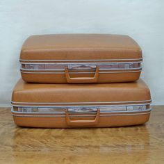 Mid Century Samsonite Silhouette Two Piece by leapinglemming