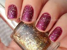The Lace Is On - Essie + Gilded Glitter - Nyx + Matt Plus - BU