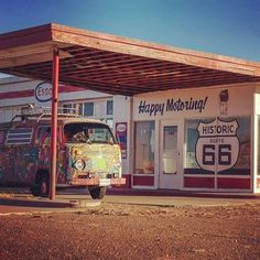 Liked on InstaGram: Happy Motoring Texas to Albuquerque, New Mexico today. Stopped in Tucumcari, NM to explore. #route66 #tucumcari #newmexico #vw #volkswagen #baywindow #aircooled #vanlife #roadtrip #explore