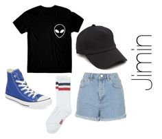 """p j m"" by comewtme on Polyvore featuring Topshop, Converse and rag & bone"