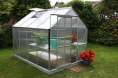 8x6 Grow Master Greenhouse £299.00 with Free Delivery  http://www.greenhousestores.co.uk/Grow-Master-8x6-Greenhouse.htm