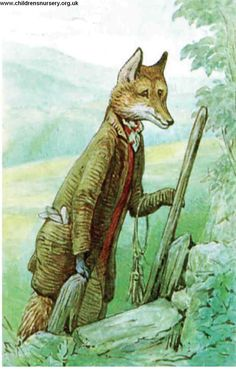 """'The Tale of Mr. Tod', 1912 -- Beatrix Potter. Mr. Tod. The tale was influenced by the Uncle Remus stories, and was set in the fields of Potter's Castle Farm. Black and white illustrations outnumber those in colour. The tale is critically considered one of Potter's """"most complex and successful in plot and tone."""""""