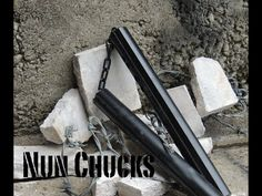 Check out how to make a solid steel nunchuck