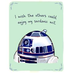 Confessions of an R2 unit
