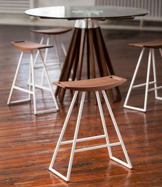 Buy Wooden Wire Counter Stool Online | 212Concept