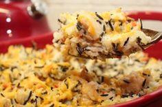 Wild Rice & Chicken Casserole - Healthy Recipes   Michelle Marie Fit