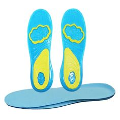 100Pairs/LOT Men and Women Silicone Insoles Insoles Movement Damping Insole Soft Contact The Silicone Sport Insoles