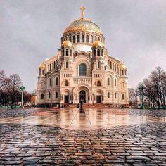 Kronstadt Naval cathedral.
