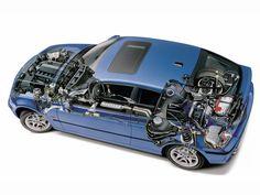 2001-2005 BMW 3 Series Compact (E46) - Illustration unattributed