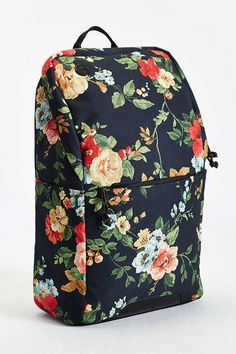 27 Backpacks For The Cool Commuter #refinery29  http://www.refinery29.com/cool-backpacks#slide-4  Pretty florals on the outside, padded back and sleeves for minimal shoulder pain on the backside. ...