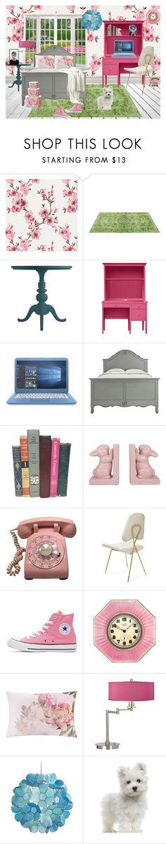 """""""Rhoma's Room"""" by elizabeth-pride ❤ liked on Polyvore featuring interior, interiors, interior design, home, home decor, interior decorating, Stanley, Home Decorators Collection, Converse and Cartier"""