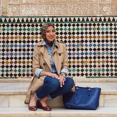 """An interview with Melanie Elturk, CEO and Chief Designer of Haute Hijab, a premier high-end fashion brand for Muslim women all around the world. Read our talk about Muslim fashion, her journey from founding Haute Hijab """"out of necessity"""" and her advice to young creatives who are thinking of starting a business."""