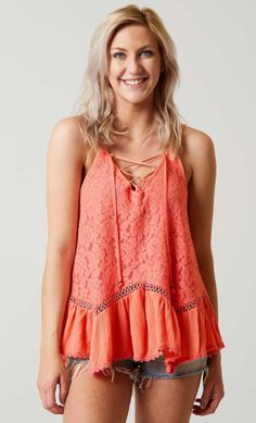 f8299a862 Coco + Jaimeson Lace Tank - Women's Clothing | Buckle Buckle Outfits,  Summer Tank Tops