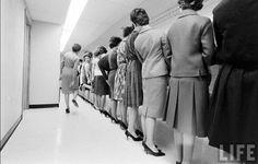 vintage air hostess / stewardess school