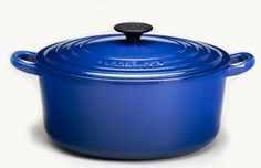 Le Creuset, 3.5 Round French Oven, Cobalt Blue :)