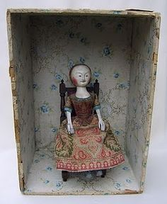 17th century wooden doll