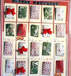 70 ideas for a Christmas advent calendar