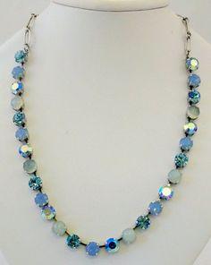 Mariana Necklace NWT Aquamarine Chrysolite Opal Air Blue-11 Main