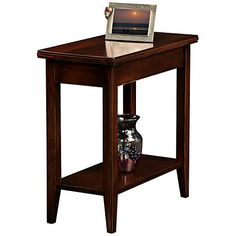 Lau Narrow Chairside End Table