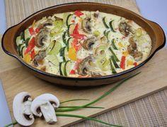 Lust auf Gemüse? Dieser Low Carb Gemüseauflauf gelingt ganz leicht und schmeckt fantastisch. Hier geht's zum Rezept!