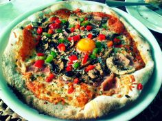 he and she: Enjoy life: food# pizza de ovo
