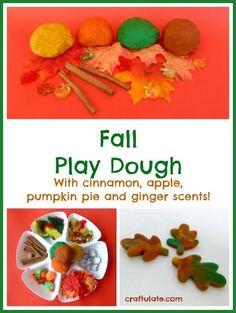 Fall Play Dough Fun