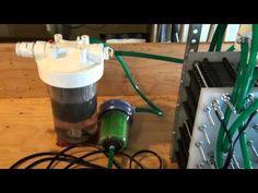 HHO 354 Plate Monster Hydrogen Generator Build Part 5 - YouTube